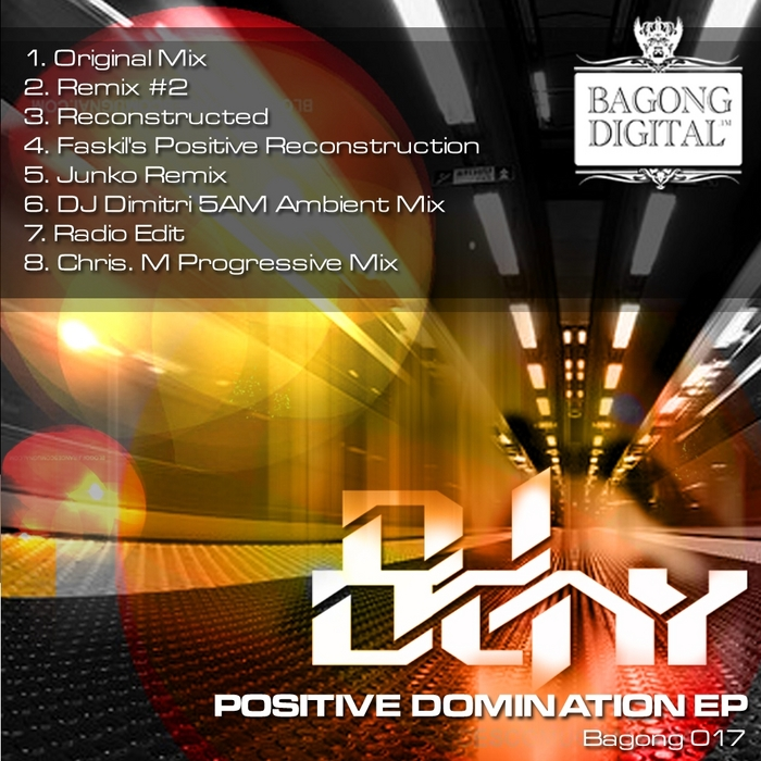 DJ DENY - Positive Domination EP