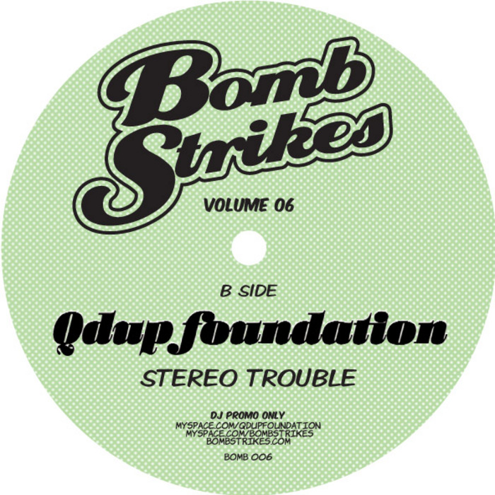 QDUP FOUNDATION - Bombstrikes Vol 6 (Free Tracks)