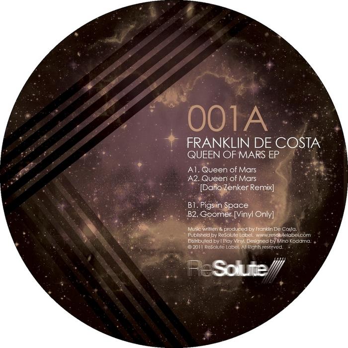 DE COSTA, Franklin - Queen Of Mars EP