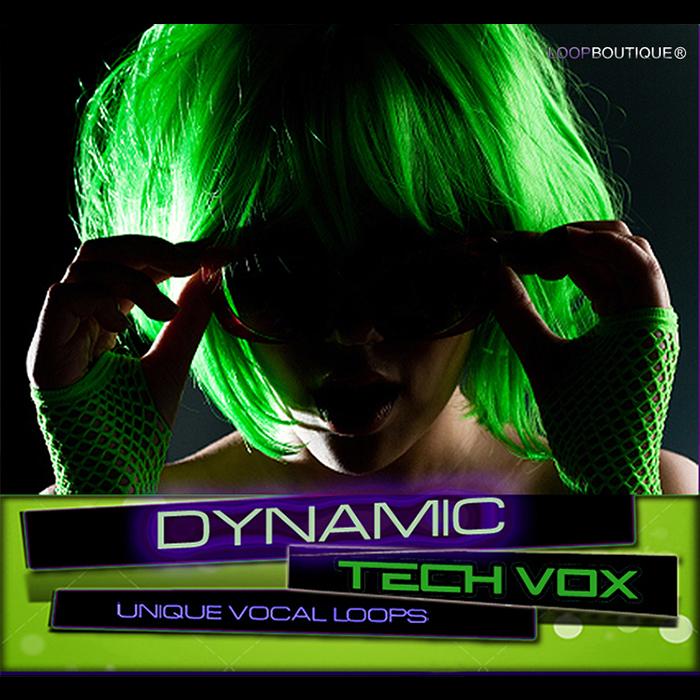LOOPBOUTIQUE - Dynamic Tech Vox (Sample Pack ACID/WAV)