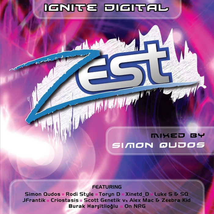 QUDOS, Simon/VARIOUS - Zest (unmixed tracks)