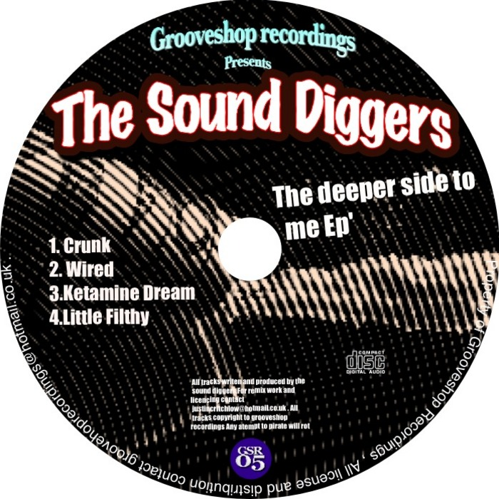 SOUND DIGGERS, The - The Deeper Side To Me