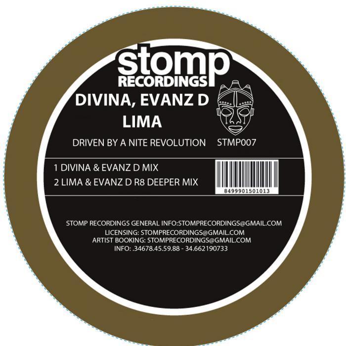 DE DIVINA, Jose & LIMA - Driven By A Nite Revolution