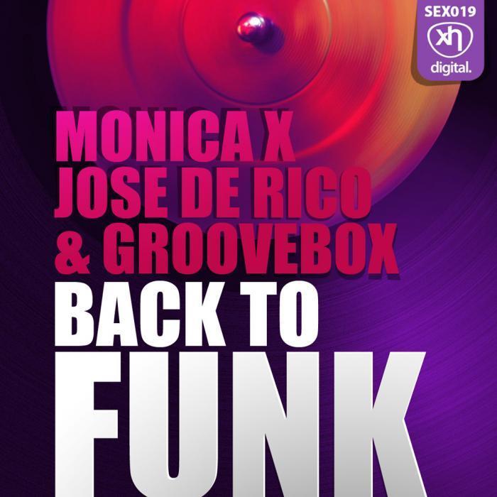 MONICA X/JOSE DE RICO/GROOVEBOx - Back To Funk