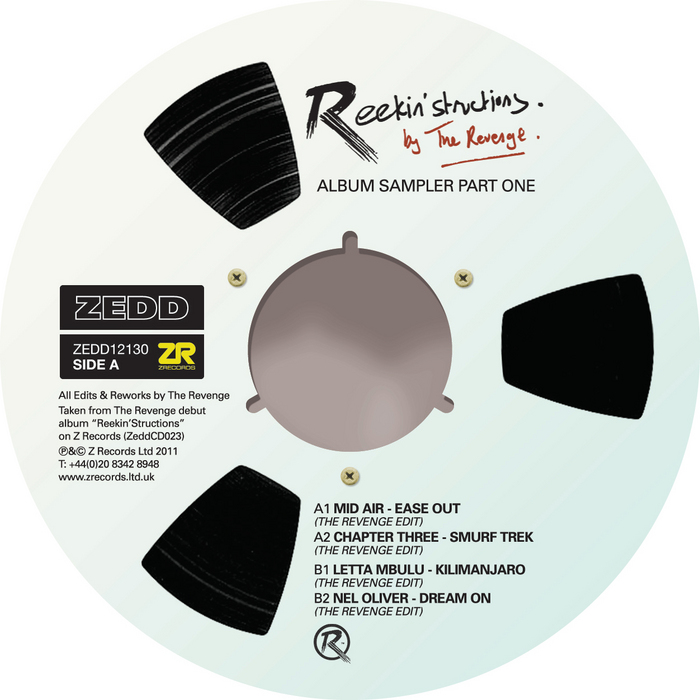 MID AIR/CHAPTER THREE/LETTA MBULU/NEL OLIVER - Reekin'Structions By The Revenge (Album Sampler Part One)
