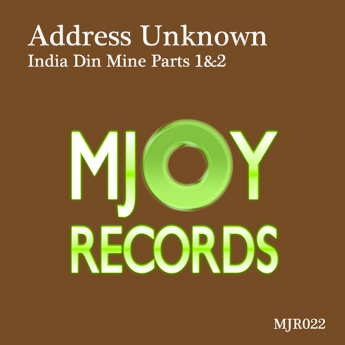 ADDRESS UNKNOWN - India Din Mine Parts 1&2