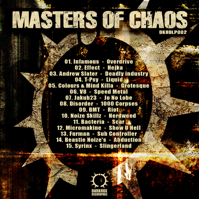 INFAMOUS/VARIOUS - Masters Of Chaos