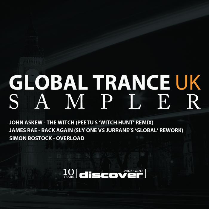 ASKEW, John/JAMES RAE/SIMON BOSTOCKS - Global Trance UK Sampler