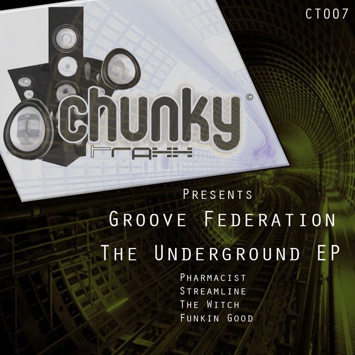 GROOVE FEDERATION - The Underground EP