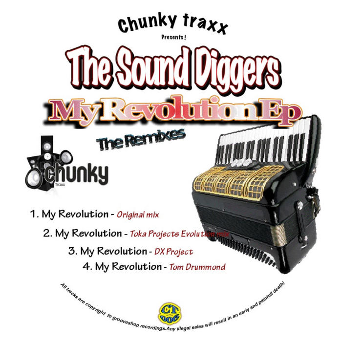 SOUND DIGGERS, The - My Revolution