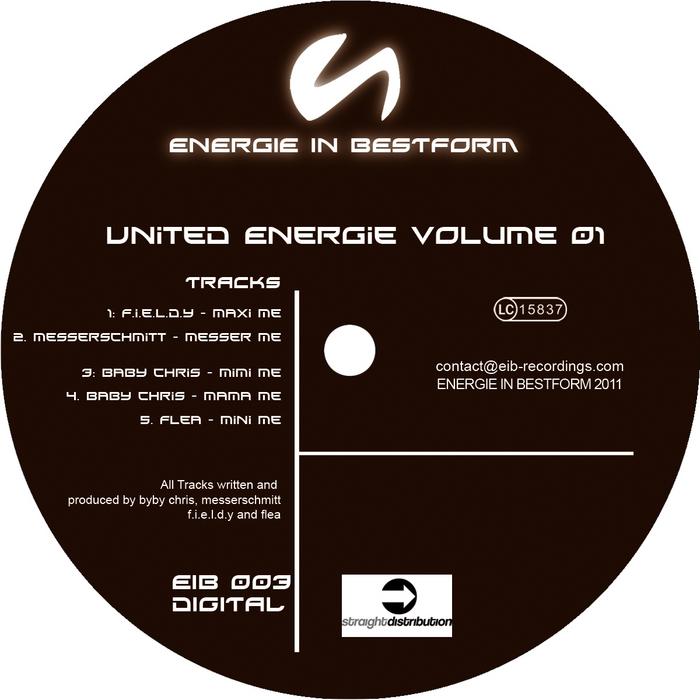 FIELDY/MESSERSCHMITT/BABY CHRIS/FLEA - United Energy Vol 01 (Mini Me remixes!)