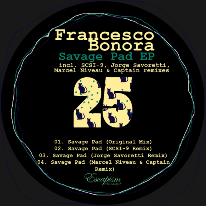 BONORA, Francesco - Savage Pad EP