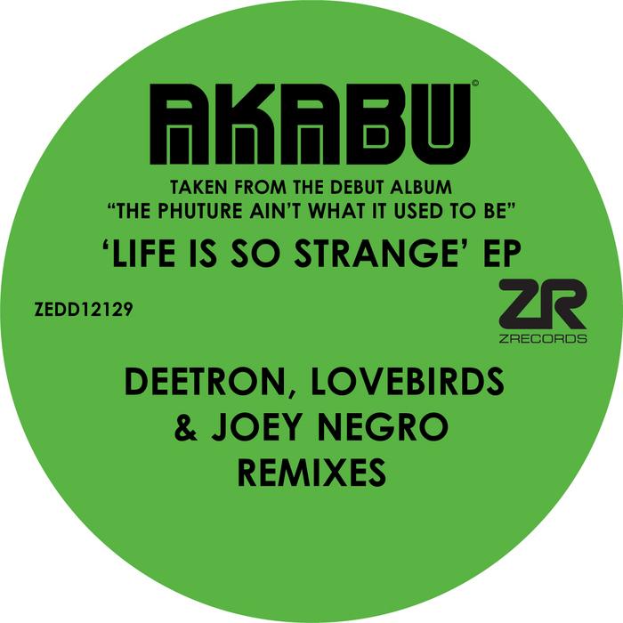 NEGRO, Joey presents AKABU feat TONY MOMRELLE - Life Is So Strange EP