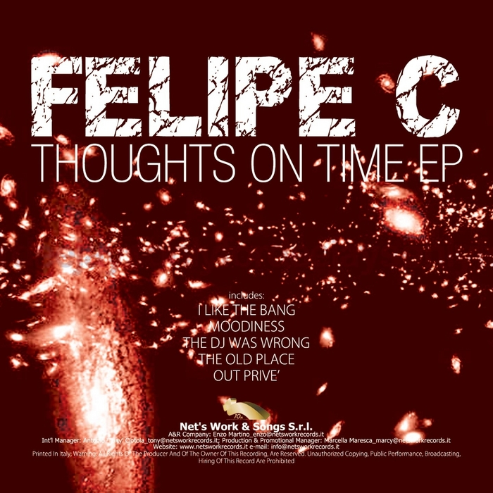 FELIPE C - Thoughts On Time EP