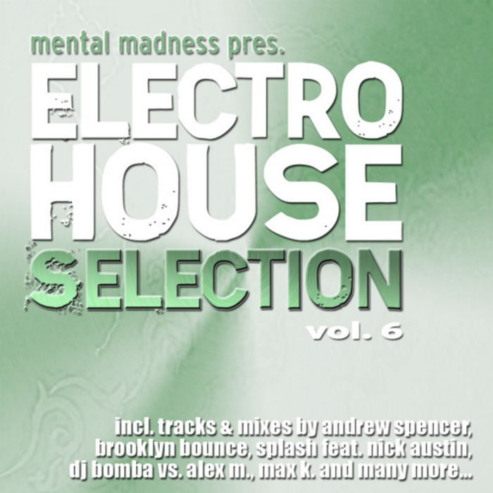 VARIOUS - Mental Madness Pres. Electro House Selection: Vol  6