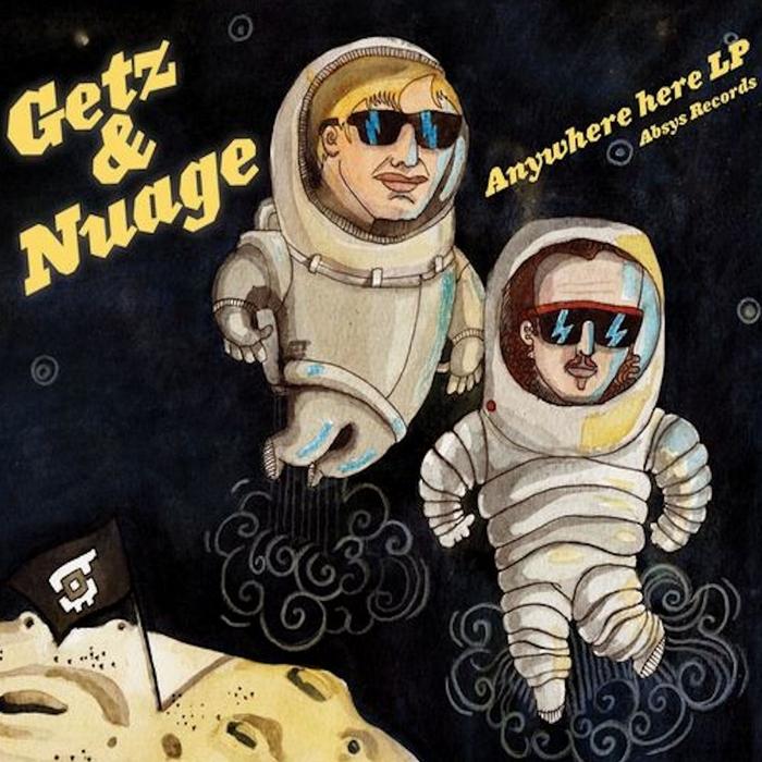 GETZ & NUAGE - Anywhere Here LP