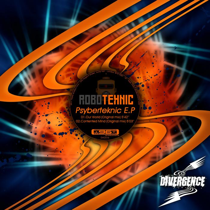 ROBOTEKNIC - Psyberteknic EP