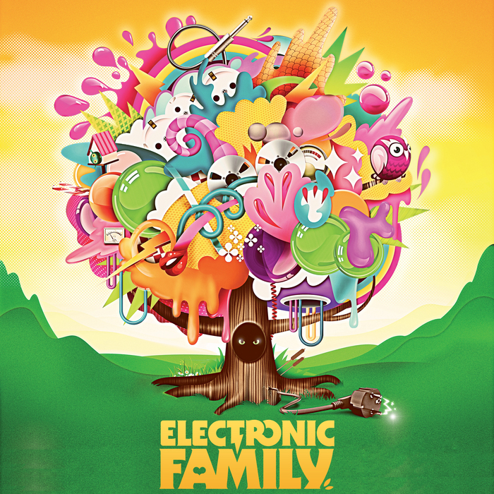 VARIOUS - Electronic Family: The Compilation