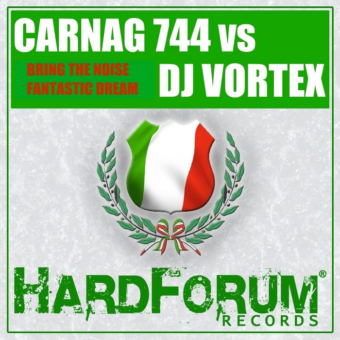 CARNAG 744 vs DJ VORTEX - Bring The Noise EP
