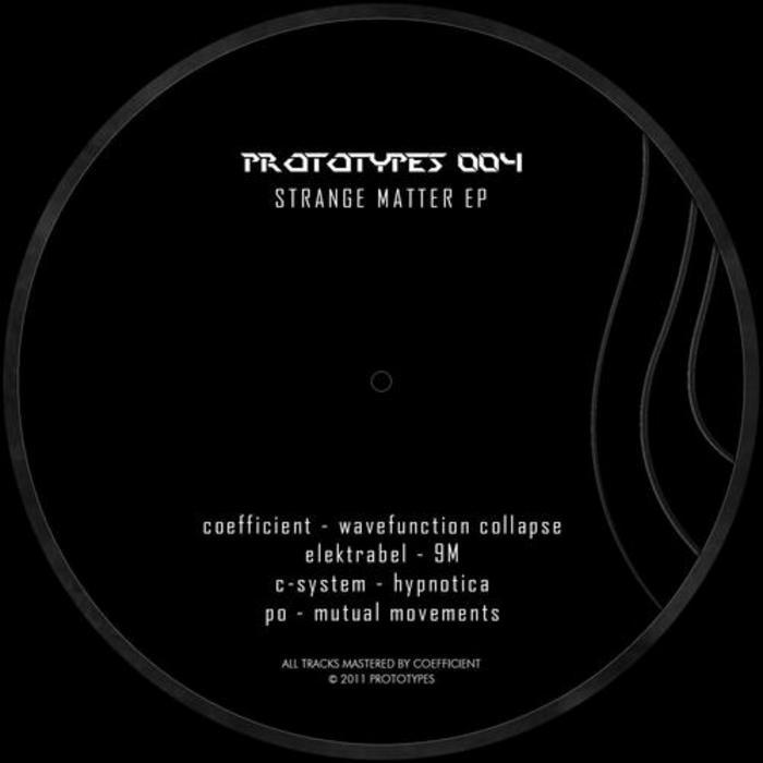 COEFFICIENT/ELEKTRABEL/C SYSTEM/PO - Strange Matter
