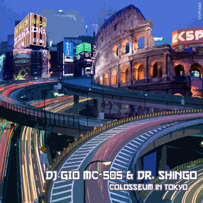 DJ GIO MC 505 & DR SHINGO - Colosseum In Tokyo