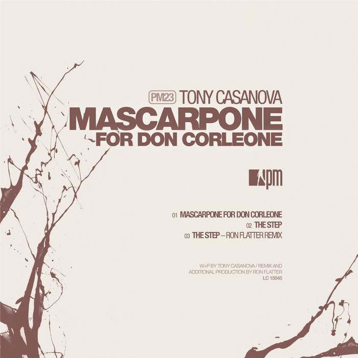 CASANOVA, Tony - Mascarpone For Don Corleone