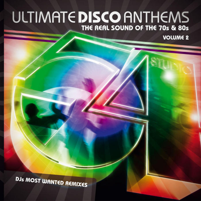VARIOUS - Ultimate Disco Anthems Vol 2 (DJs Most Wanted remixes)