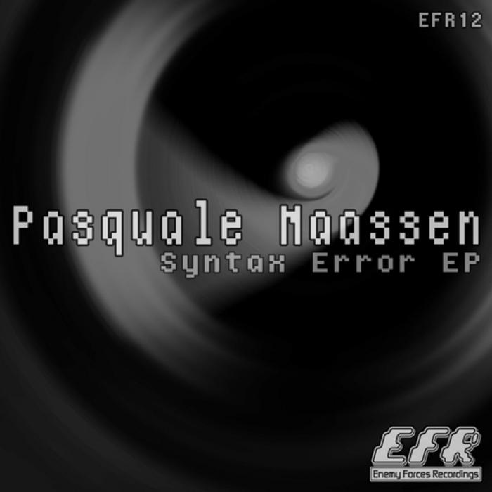 MAASSEN, Pasquale - Syntax Error EP