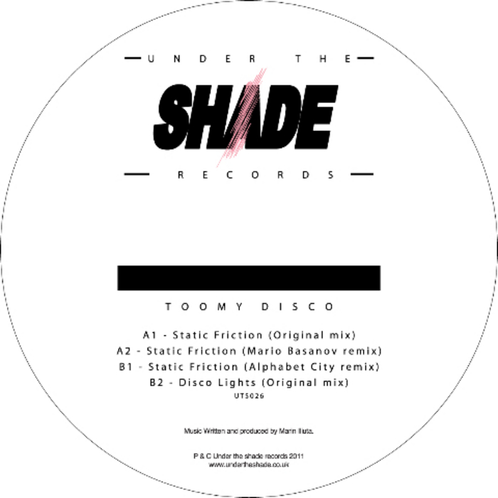 TOOMY DISCO - Static Friction