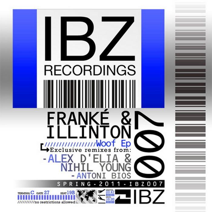 FRANKE & ILLINTON - Woof EP