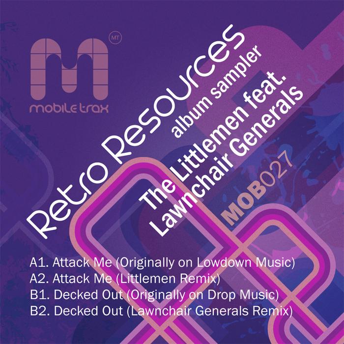 LITTLEMEN, The - Retro Resources Album Sampler