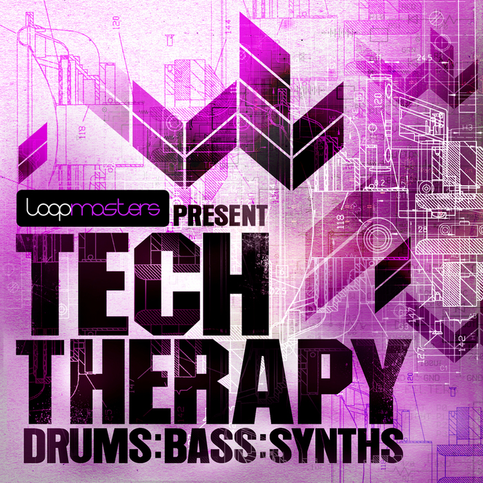LOOPMASTERS - Tech Therapy (Sample Pack WAV/APPLE/LIVE/REASON)