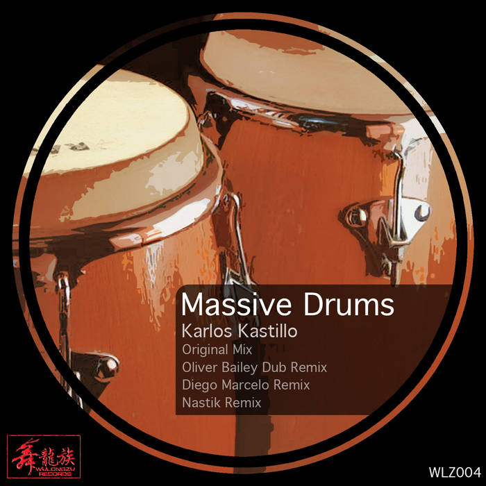 KASTILLO, Karlos - Massive Drums