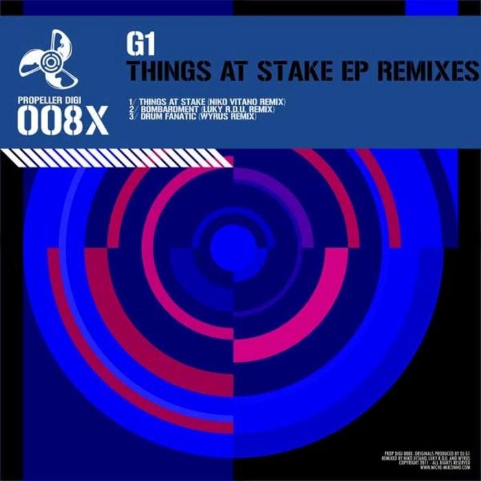 G1 - Things At Stake EP (remixes)
