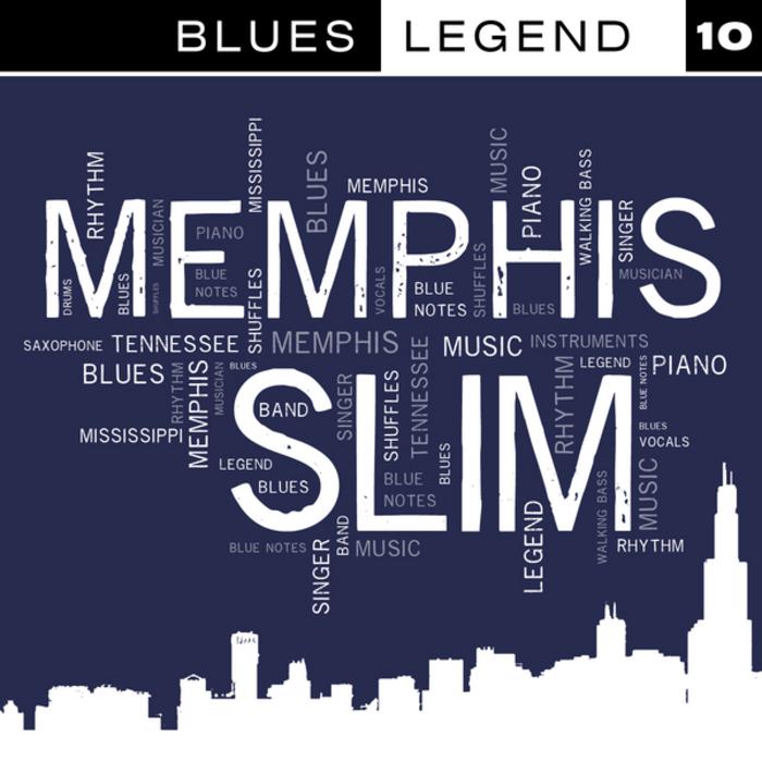 MEMPHIS SLIM - Blues Legend Vol 10