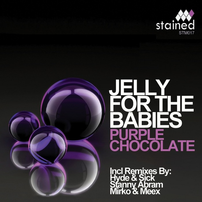 JELLY FOR THE BABIES - Purple Chocolate