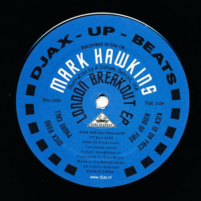 HAWKINS, Mark - London Breakout EP