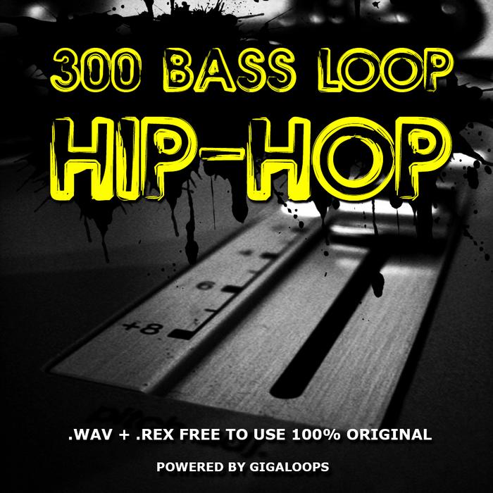 GIGALOOPS - 300 Hip Hop Bass Loops (Sample Pack WAV/REX)