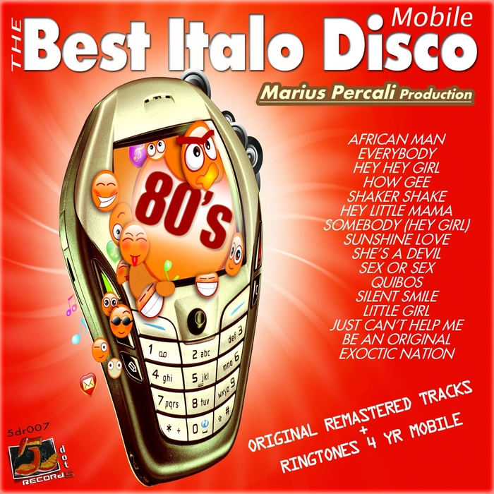 VARIOUS - The Best Italo Disco Mobile