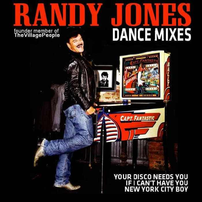 JONES, Randy - European Dance Mixes