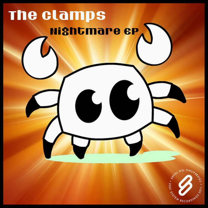 CLAMPS, The - Nightmare EP