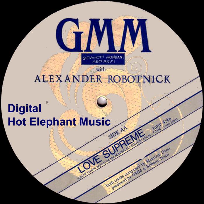 ROBOTNICK, Alexander feat STEFANO COCCO CANTINI - Love Supreme