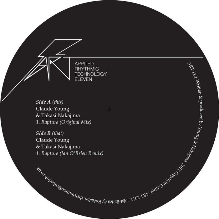 YOUNG, Claude/TAKASI NAKAJIMA - Rapture EP 1