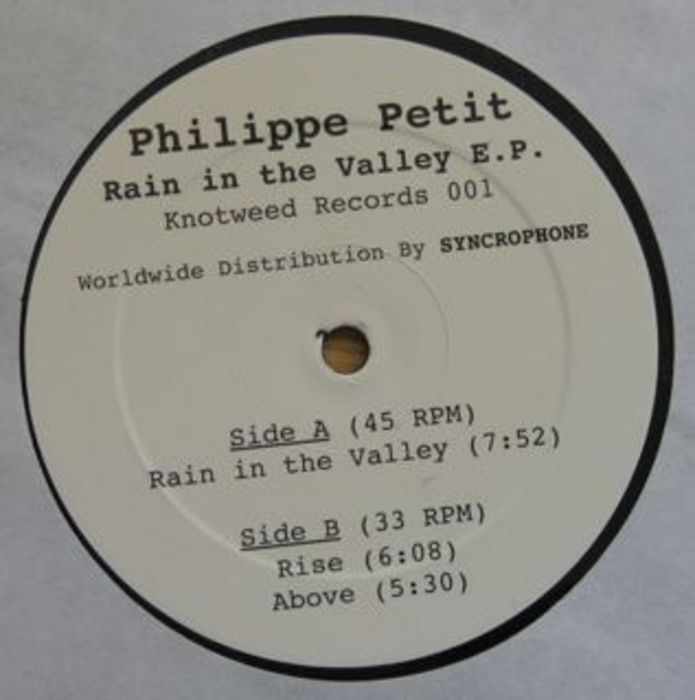 PETIT, Philippe - Rain In The Valley EP