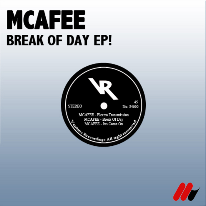 MCAFEE - Brak Of Day EP