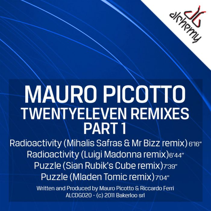 PICOTTO, Mauro - TwentyEleven (remixes Part 1)