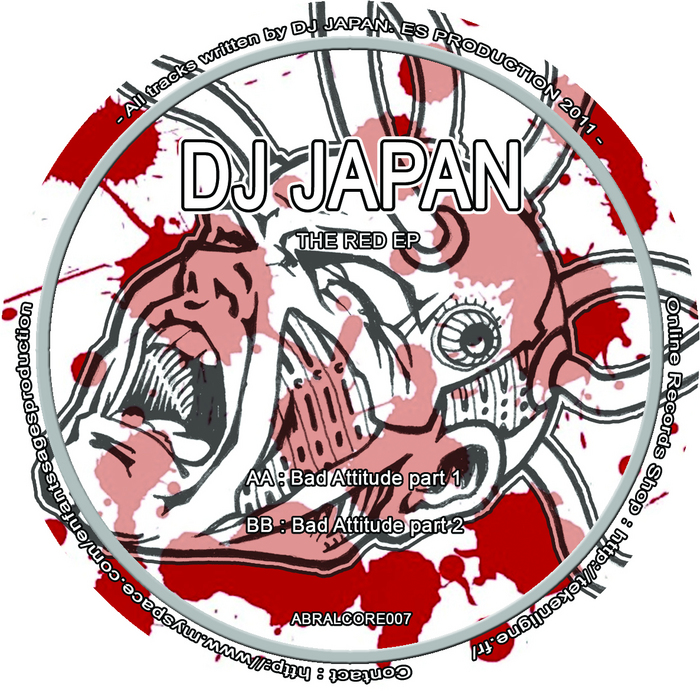 DJ JAPAN - The Red EP