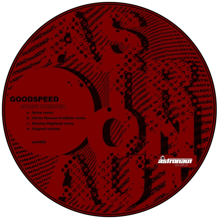 GOODSPEED - Stage Whisper