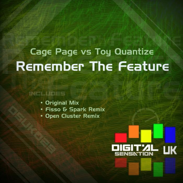 CAGE PAGE & TOY QUANTIZE/ OPEN CLUSTER/FISSO & SPARK - Remember The Feature