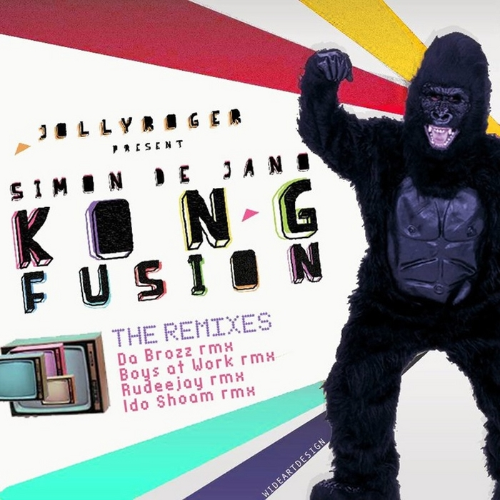 DE JANO, Simon - Kong Fusion (The remixes)